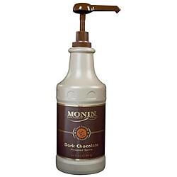 Monin Inc 64-oz Dark Chocolate Sauce (Pack of 4)
