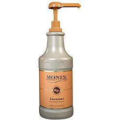 Monin Inc 64-oz Caramel Sauce (Pack of 4)