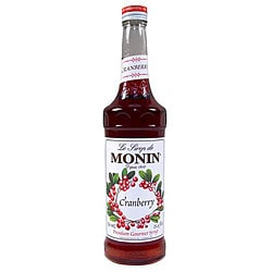 Monin Inc 750-ml Cranberry Syrup (Pack of 12)