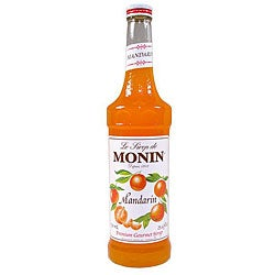 Monin Inc 750-ml Mandarin Syrup (Pack of 12)