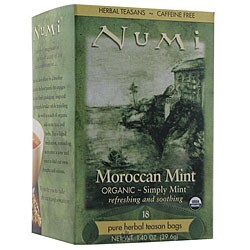 Numi 6/18CT Caffeine Free Simply Mint Tea