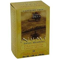 Numi 6/18CT Caffeine Free Sweet Meadow Chamomile Tea