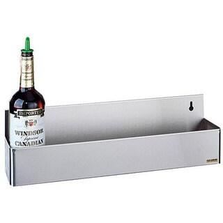 San Jamar Stainless Steel Speed Rack Holds Five 1 Quart/Liter Bottles