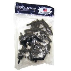 Spill-Stop Black Medium Speed Plastic Pour