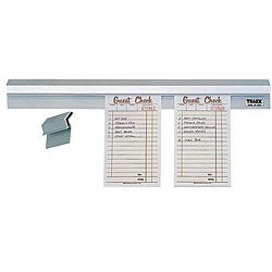 Vollrath 36x2x3/4-inch Aluminum Order Slip Holder