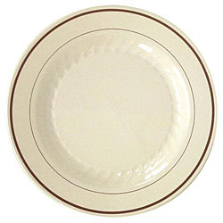 Waddington North America Masterpiece Plastic Plates (Case of 150)  sc 1 st  Overstock & Shop WNA Masterpiece White w/Silver Accents Plastic Plates (Pack of ...