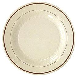 Waddington North America Masterpiece Plastic Plates (Case of 150)
