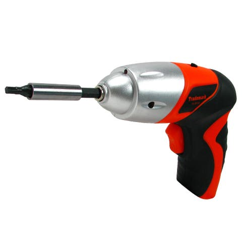 Cordless Screwdriver with LED Light (Set of Two)
