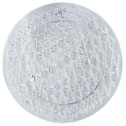 Maryland Plastics 16-in Round Clear Tray