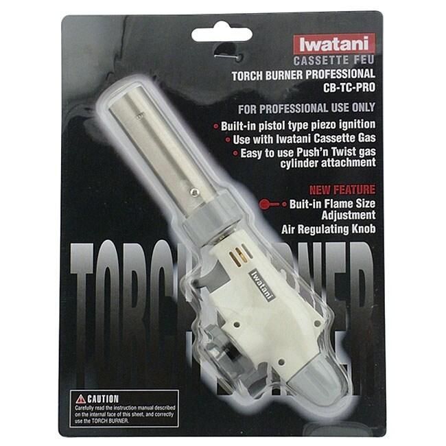 Iwatani International Gas Cassette Torch Burner