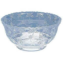 Maryland Plastics 12 Quart Clear Punch Bowl