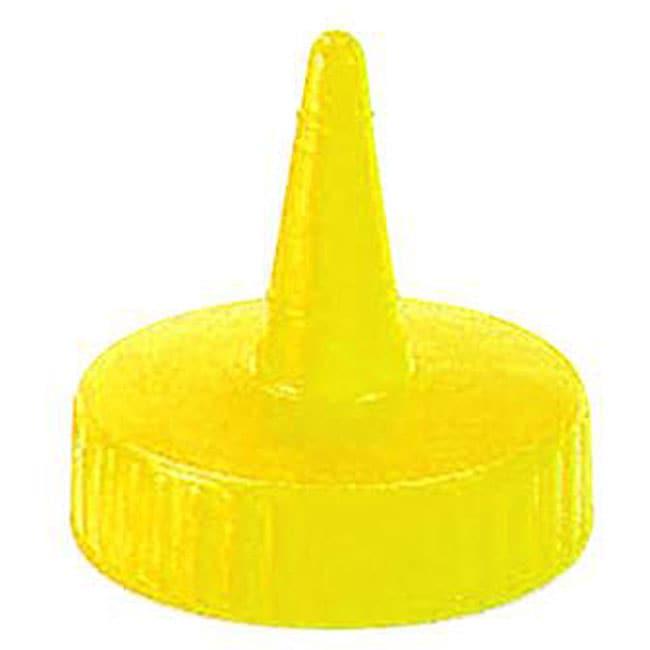 Vollrath Yellow Squeeze Bottle Cap (Pack of 12)