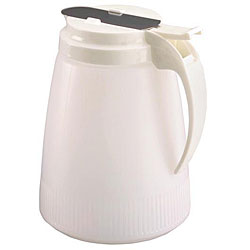 Vollrath 48 oz. White Tops (Pack of 6)