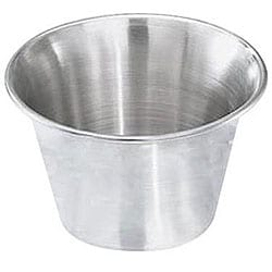 Johnson-Rose Corporation 2.5-oz Stainless Steel Sauce Cup (Pack of 12)