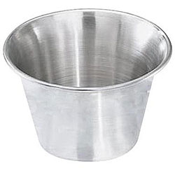Focus Corporation 2.5 oz. Stainless Steel Sauce Cup (Pack of 12)