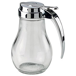 Vollrath 14 oz. Chrome Top Glass Jars (Pack of 12)