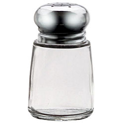 Vollrath 2 oz. Chrome Top Salt and Pepper Shakers (Pack of 12)