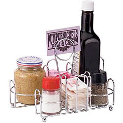 Vollrath Chrome Plated Condiment Rack