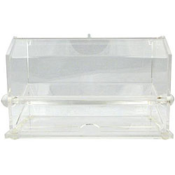 Carlisle Foodservice ION Clear Straw Dispenser