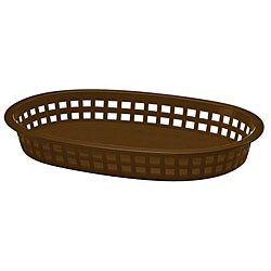 Tablecraft Brown Stackable Basket (Case of 36)
