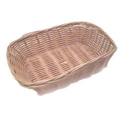Tablecraft Rectangle Woven Wicker Basket (Pack of 12) - Thumbnail 1