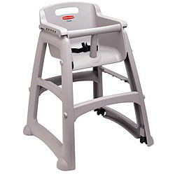 Rubbermaid Commercial High Chair Without Wheels
