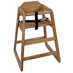 Challenger Assembled Natural High Chair