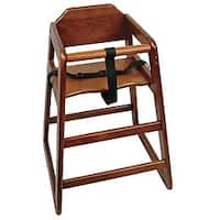 Challenger Knocked Down Walnut High Chair