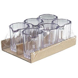 Carlisle Foodservice 2-oz Clear Syrup Pitchers (Case of 36)