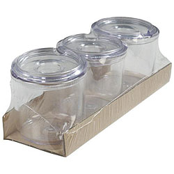Carlisle Foodservice Clear 8-oz Jelly Jar With Lid (Case of 24)