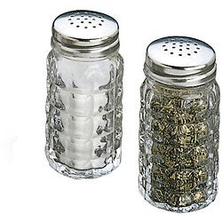 Tablecraft Cubed Salt and Pepper Shakers (Case of 48)