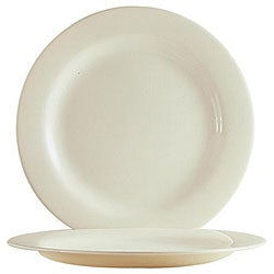 Cardinal International 10.62-in White Reception Plates (Case of 24)