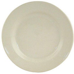 World Tableware 6.25-in Princess White Rolled Edge Dinnerware Plates (Case of 36)