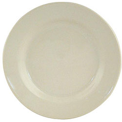 World Tableware 5.5-in Princess White Rolled Edge Dinnerware Plates (Case of 36)