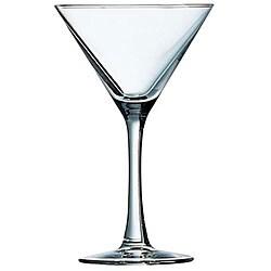 Cardinal International 7.5-oz Excalibur Fully Tempered Martini Glasses (Pack of 12)