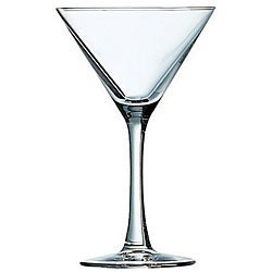 Cardinal International 7.5-oz Excalibur Martini Glasses (Pack of 12)