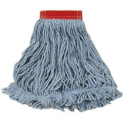 Rubbermaid Commercial Large Blue Looped 5-in Mop Head
