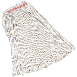Rubbermaid Commercial 32-oz 4-ply with 1-in Cotton Mop Head