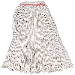 Rubbermaid Commercial Number 32 Size with 1-in Headband Cotton Value-Pro Mop