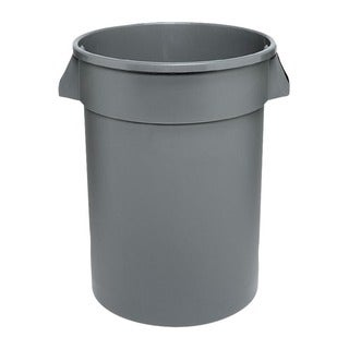 Continental Manufacturingl 10 Gallon Round Grey Huskee Container
