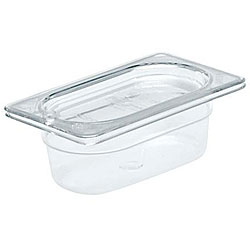 Rubbermaid Clear Ninth Size Pan Cover