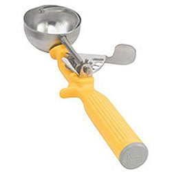 Vollrath Yellow Handle Number 20 Food Disher