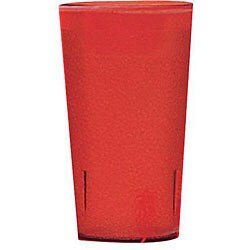 Cambro 12-oz Red Colorware Tumbler (Case of 72)