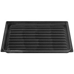 Cambro 12x20-in Black Polycarbonate Display Tray