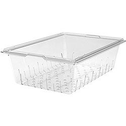 Cambro 18x26x6-in Clear Colander for Food Storage Box