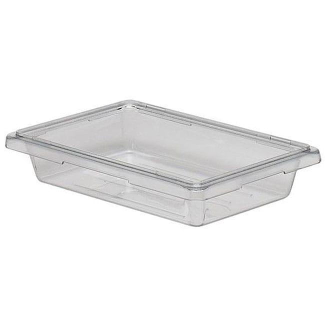 Shop Cambro 2 gallon 12x18x3 in Clear Food Storage Container Free