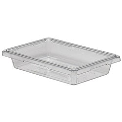 Cambro 2-gallon 12x18x3-in Clear Food Storage Container