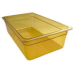 Cambro Full Size Amber 6-in Depth High Heat Pan