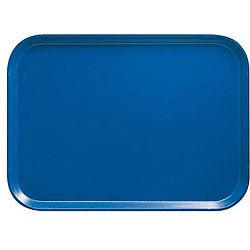 Cambro Blue Fast Food Tray (Case of 24)