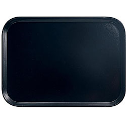 Cambro Black Fast Food Tray (Case of 24)